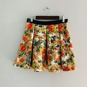 ASTR The Label Floral Flouncy Circle Skirt
